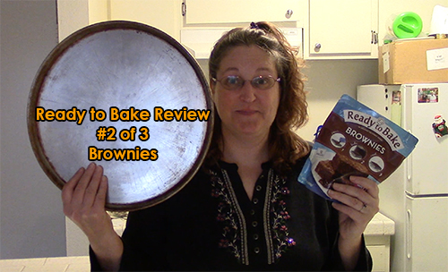 Ready to Bake Brownies Product Review