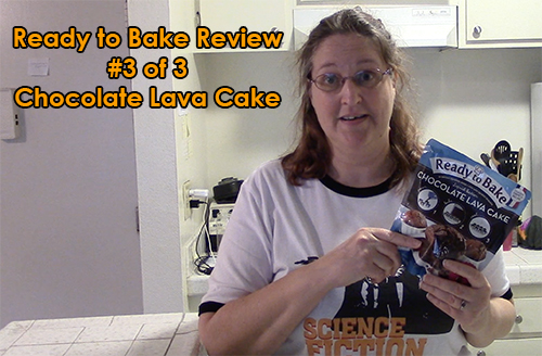 Ready to Bake Chocolate Lava Cake Product Review