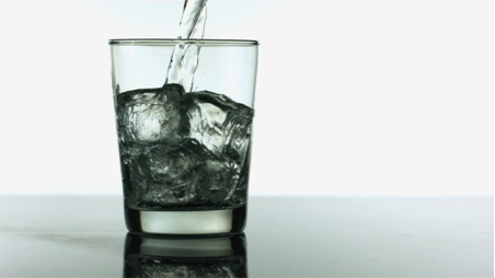 drinks - water on ice