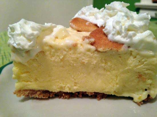 Church Supper Lemon Icebox Pie