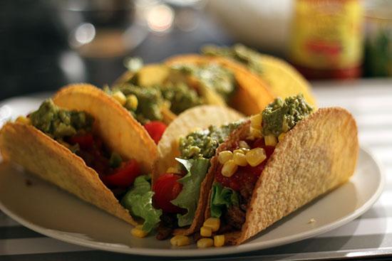 hand-held food - tacos