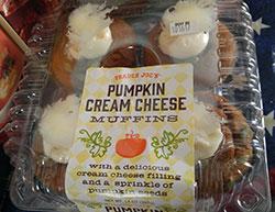 Trader Joe's Pumpkin Cream Cheese Muffins