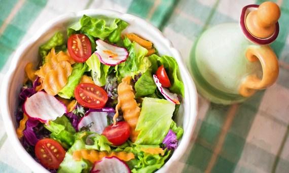 Fresh Vegetables Diet Healthy Salad Veggies Food