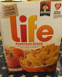 Limited Edition Pumpkin Spice Life Cereal