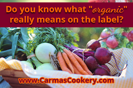 Do you know what organic really means on the label?