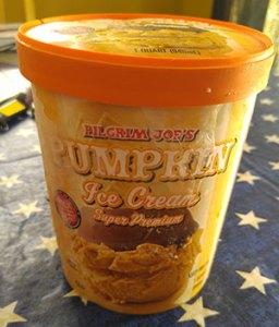 Pilgrim Joe's Pumpkin Ice Cream Super Premium
