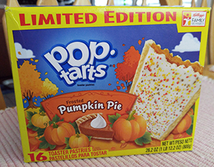 Frosted Pumpkin Pie Pop-Tarts, Limited Edition Toaster Pastries