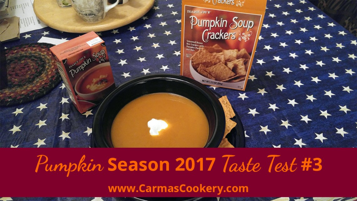 Pumpkin Season 2017 Taste Test #3