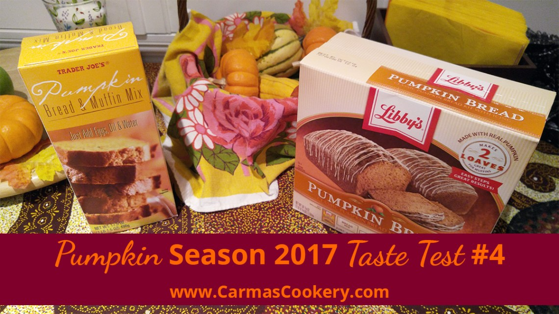 Pumpkin Season 2017 Taste Test #4