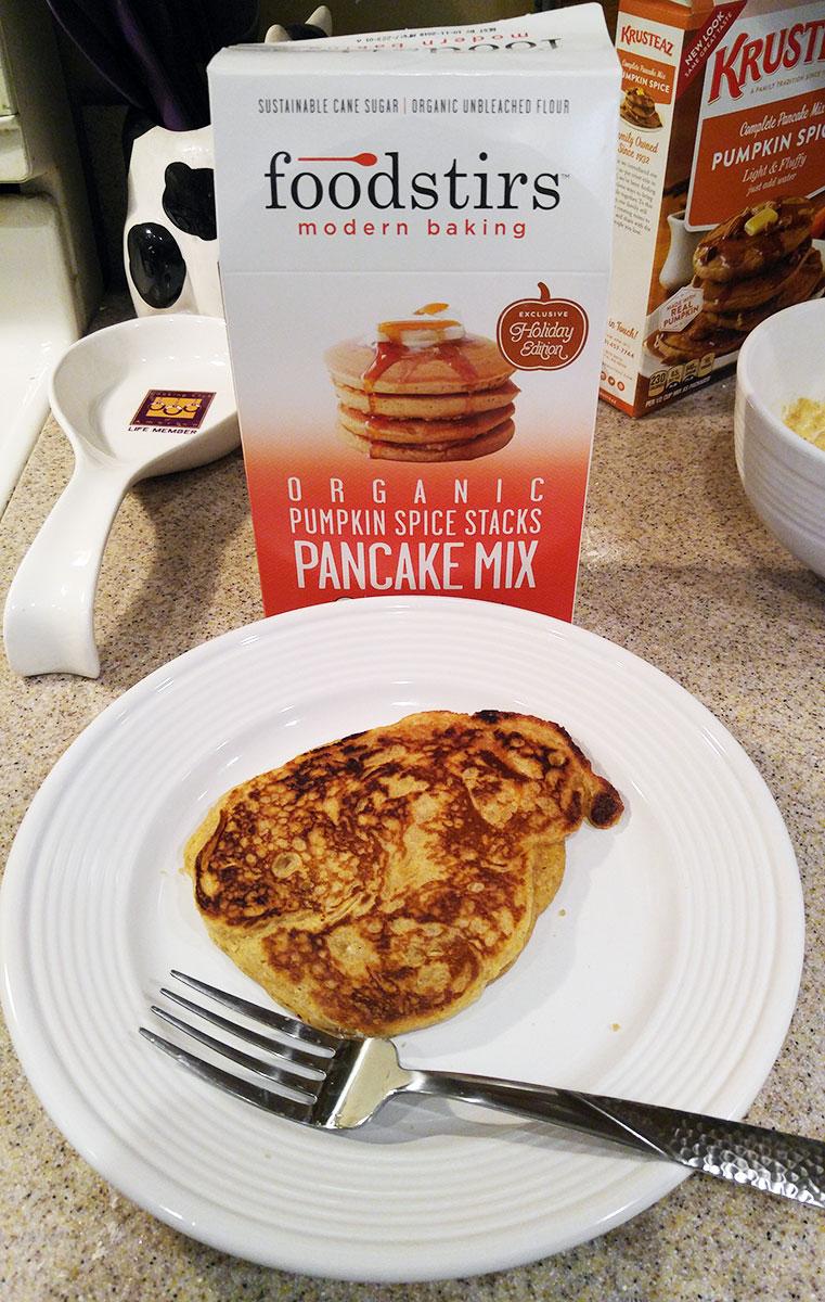 Foodstirs pumpkin pancake