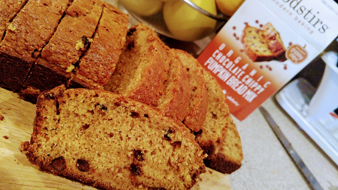 Foodstirs Organic Chocolate Chippy Pumpkin Bread