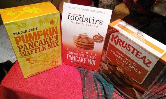 Pumpkin Pancake smackdown