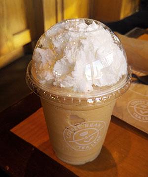 Pumpkin Spiced Chai Tea Latte & Ice Blended