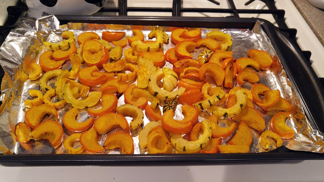 roasted winter squash