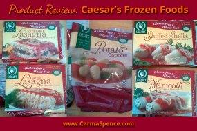 Product Review: Caesar's Frozen Foods
