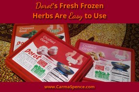 Dorot's Fresh Frozen Herbs Are Easy to Use