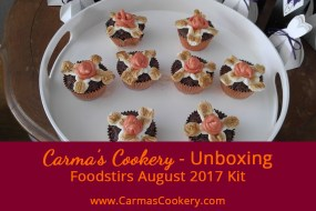 August 2017 Foodstirs Kit - Campfire S'mores Brownie Cupcakes