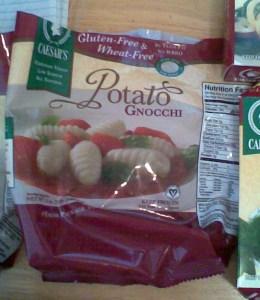 Caesar's frozen potato gnocchi