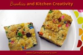 Brookies and Kitchen Creativity