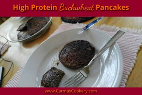 High Protein Buckwheat Pancakes