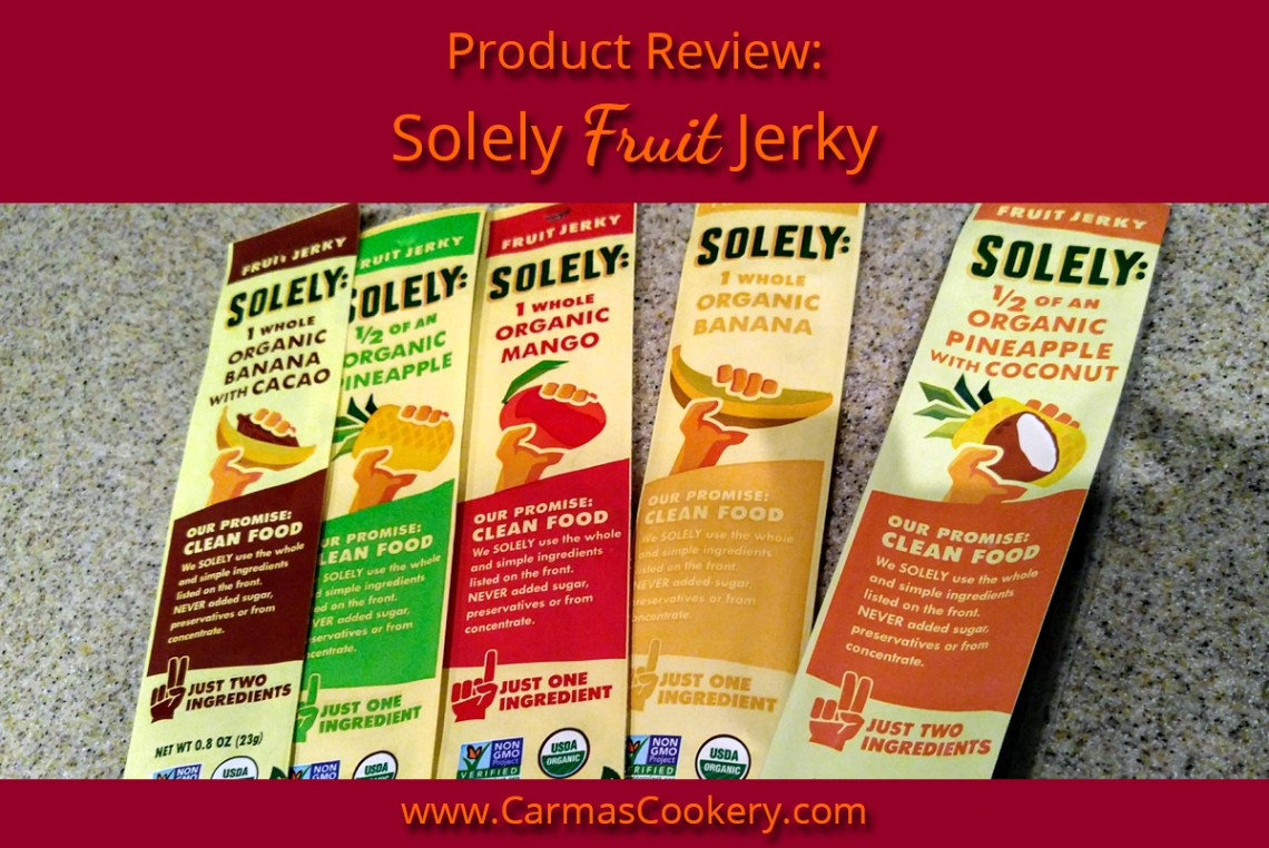 Solely Fruit Jerky
