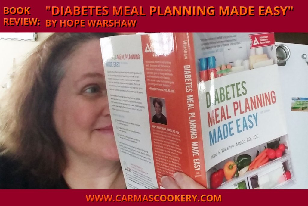 """Book Review: """"Diabetes Meal Planning Made Easy"""" by Hope Warshaw"""