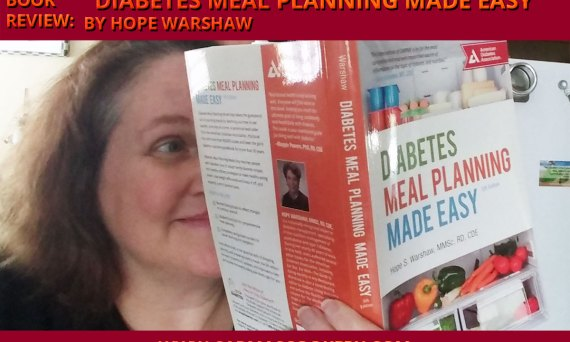 "Book Review: ""Diabetes Meal Planning Made Easy"" by Hope Warshaw"