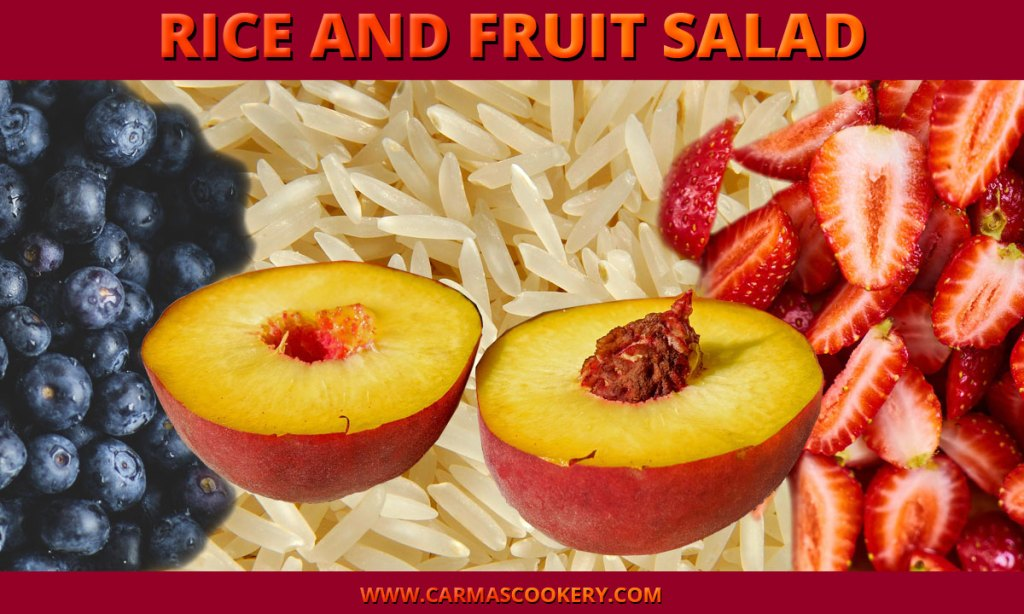 Rice and Fruit Salad