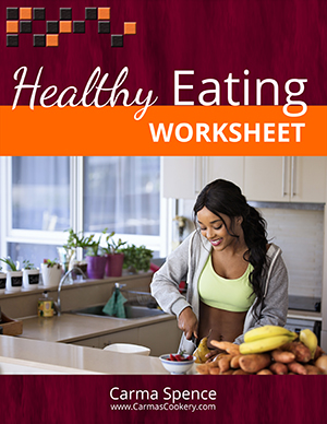 Healthy Eating Worksheet