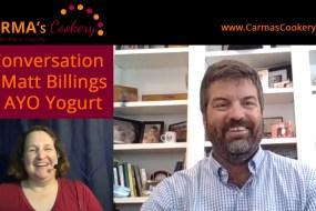 A Conversation with Matt Billings of AYO Almondmilk Yogurt (Video)