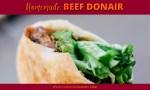 Homemade Beef Donair