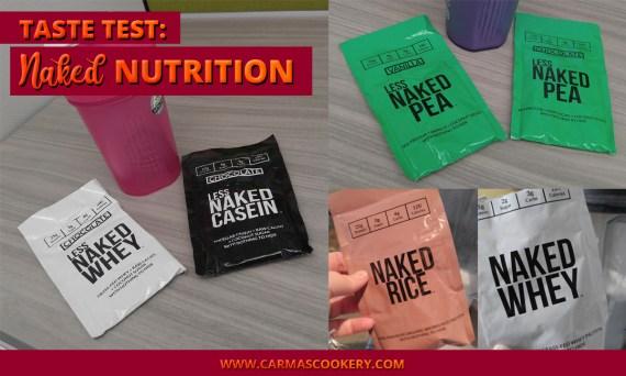 Taste Test - Naked Nutrition