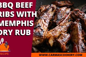BBQ Beef Ribs with Memphis Dry Rub
