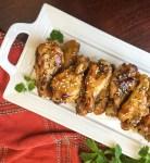 Sesame Garlic Wings