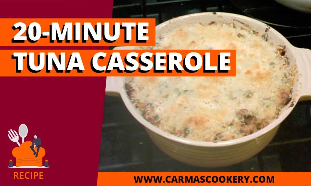 20 Minute Tuna Casserole