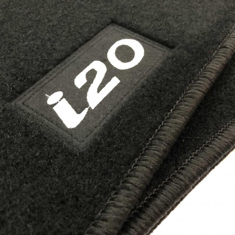 hyundai i20 2015 current tailored logo car mats