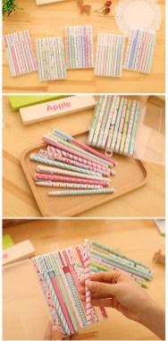 Boligrafos de colores