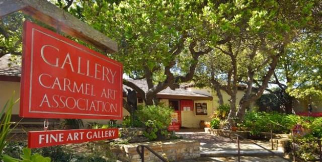< Carmel Art Association >