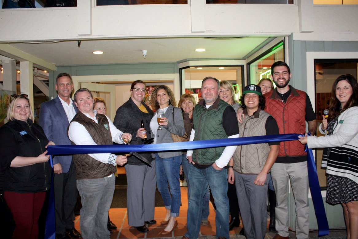 Carmel Craft Brewing Company Ribbon Cutting