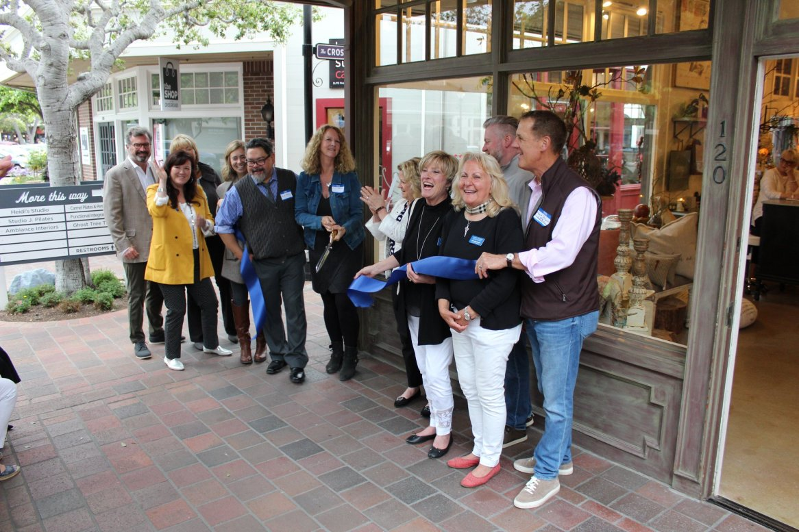 Home Hearth Shop Ribbon Cutting
