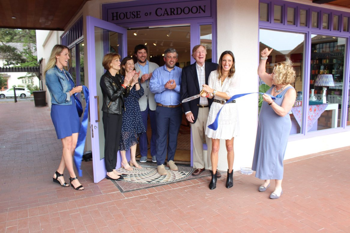 House of Cardoon Ribbon Cutting
