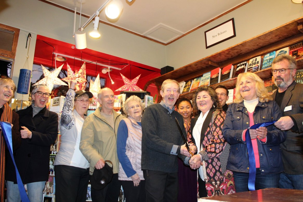 Pilgrim's Way Bookstore 50th Anniversary Ribbon Cutting Celebration