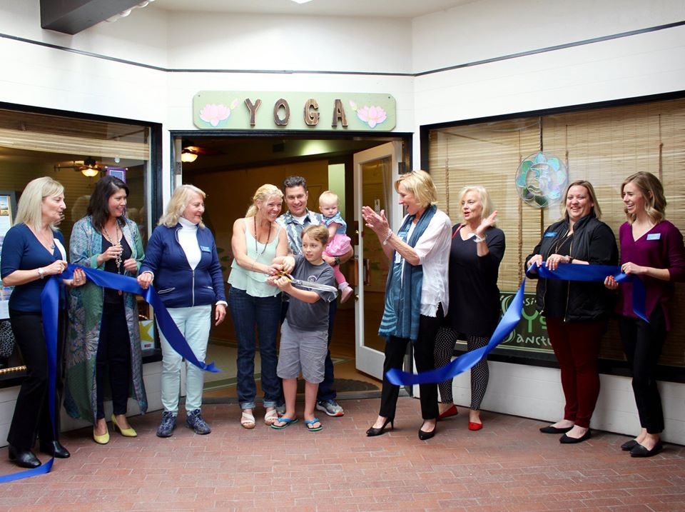 Seaside Yoga Sanctuary Ribbon Cutting