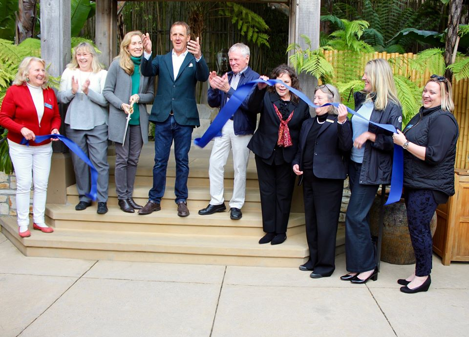 Tradewinds Carmel 60th Anniversary Ribbon Cutting