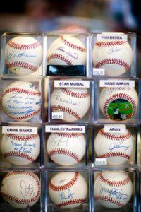 Authentic Sports Collectibles - Signed Baseballs
