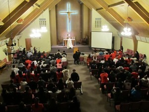 Eucharistic Adoration at SJC
