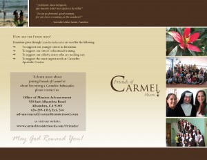 Friends_of_Carmel_Brochure_2014_Page_1