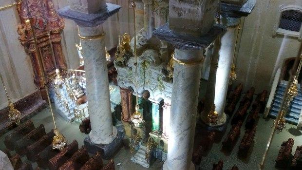Большая синагога в Вильно. Реконструкция. Бима