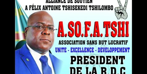 LA SORTIE OFFICIELLE DE L' A.SO.F.A.TSHI LONDRES