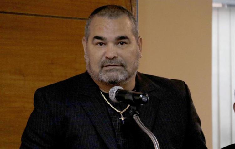 El exarquero internacional paraguayo José Luis Chilavert. EFE/Andrés Cristaldo Benítez/Archivo